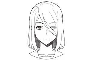 繪畫教程 | 如何畫漫畫人物女生的頭發?