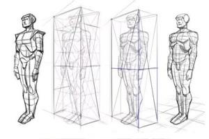 素描教程:素描入門,怎樣畫好人體比例?