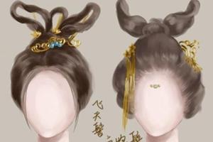 设计参考 | 古代人物女子发型,30种任君选择!