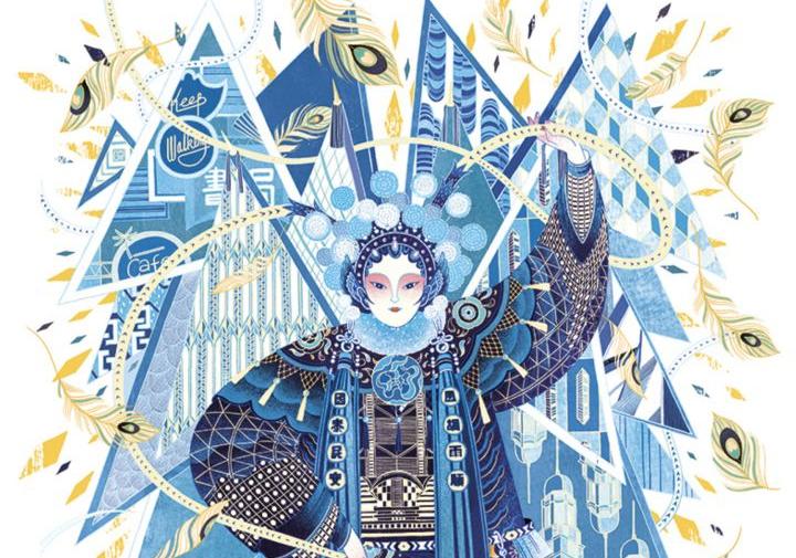 她是登上福布斯艺术榜最年轻的得主之一,也让中国风插画走出了国门