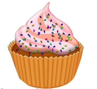蛋糕怎么画?ps分步骤详细讲解~