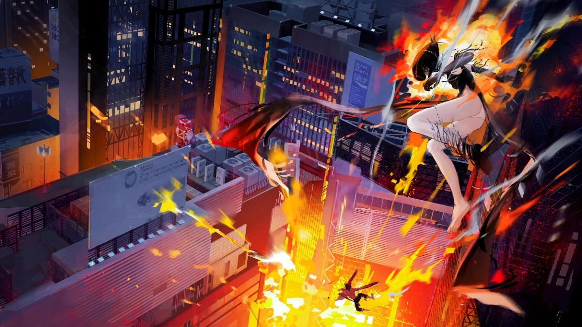 《链锯人》系列同人漫画合辑,来收壁纸吧!
