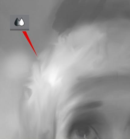 画画小白板绘厚涂起稿怎样画出光影关系?