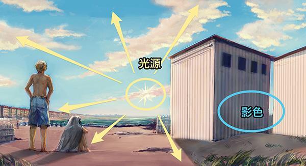 动漫天空怎么画?教你画宫崎骏风格的天空背景!